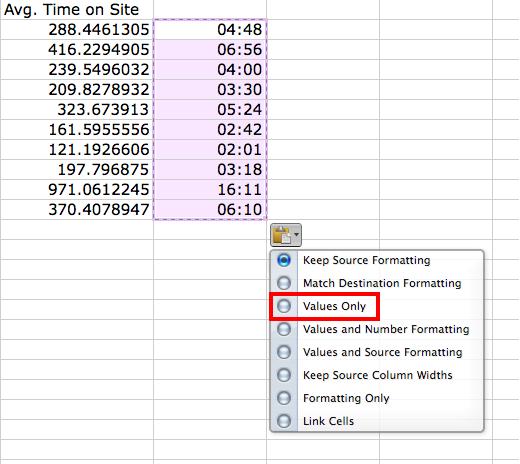 Stripping Formulas in Excel