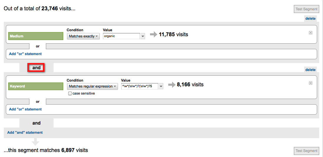 Find Your Short-Tail Keywords Fast in Google Analytics