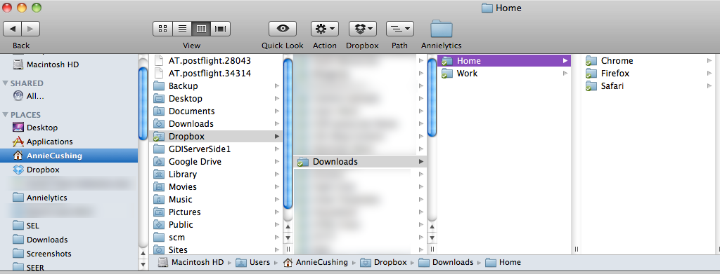 Save Your Downloads To The Cloud With Dropbox - Annielytics com