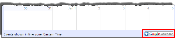 updated gcal sharing strategy