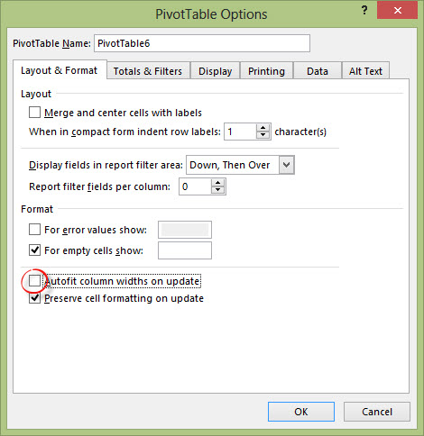 My Biggest Pivot Table Annoyance (And How To Fix It) - Annielytics com