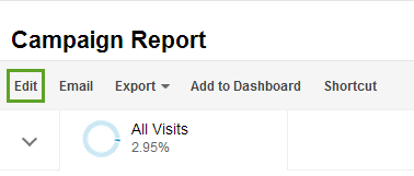 custom report in Google Analytics