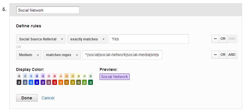 Multi-Channel Funnels settings