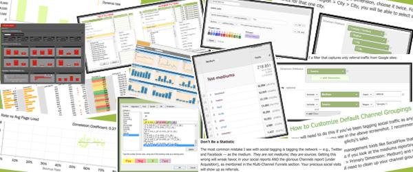 Google Analytics and Excel mini courses