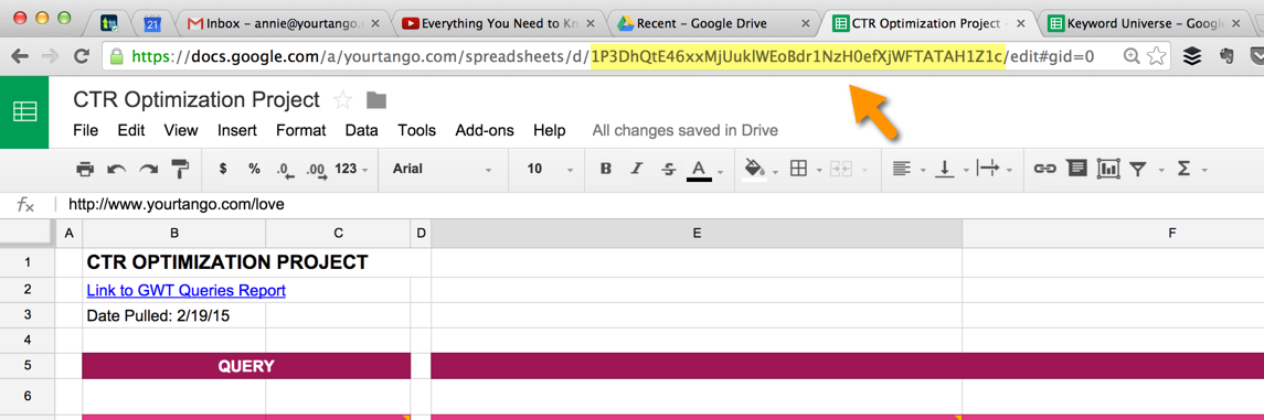 Import One Spreadsheet Into Another In Google Drive Video