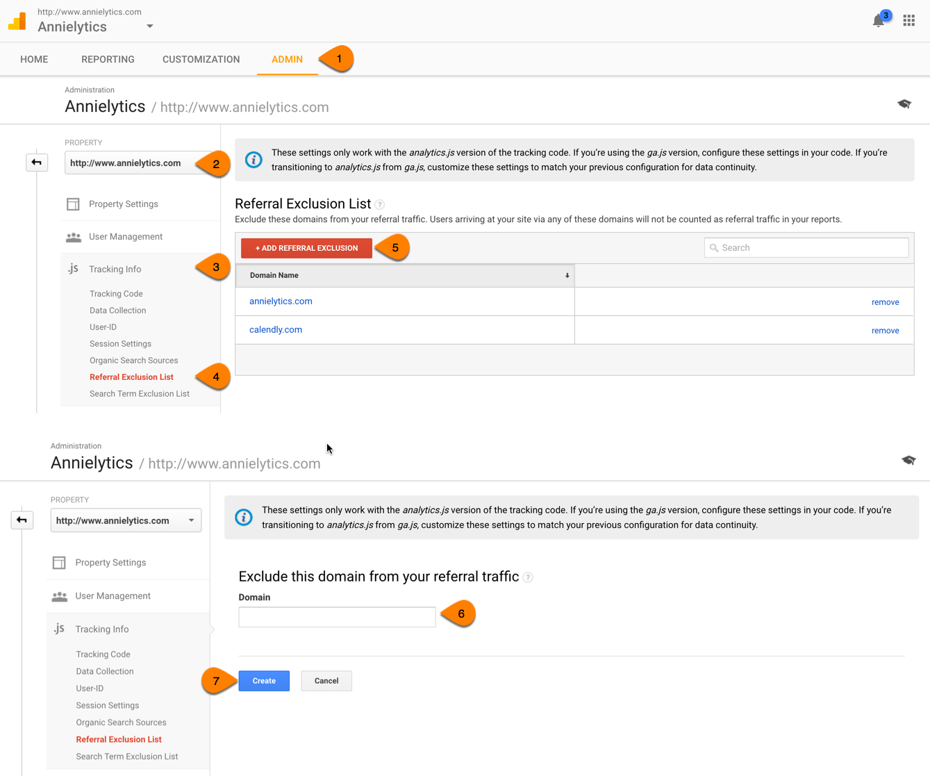 Referral Exclusion List in Google Analytics Explained