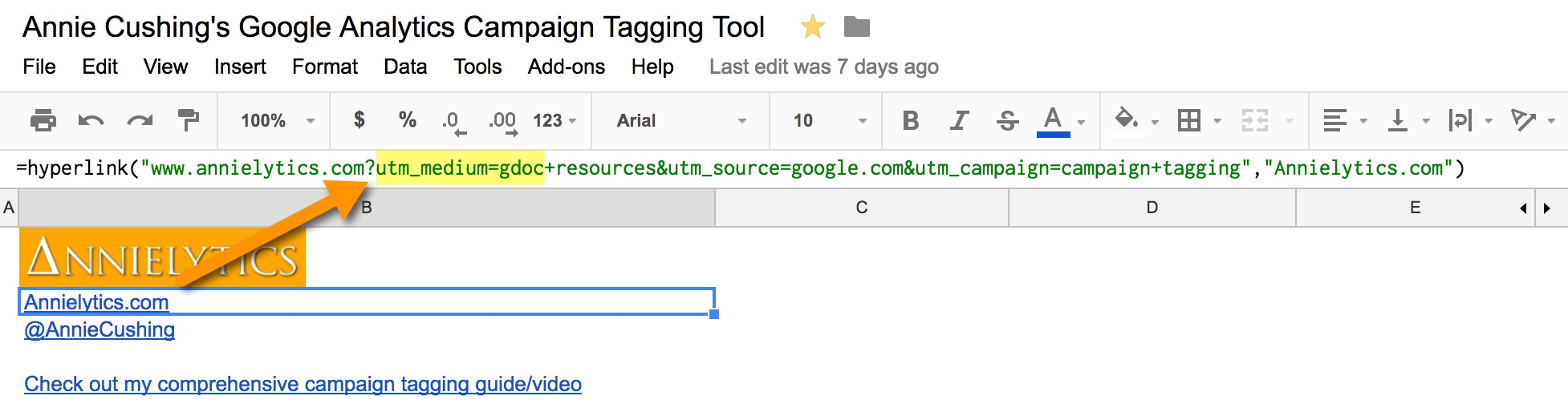 campaign tagging in Google Analytics