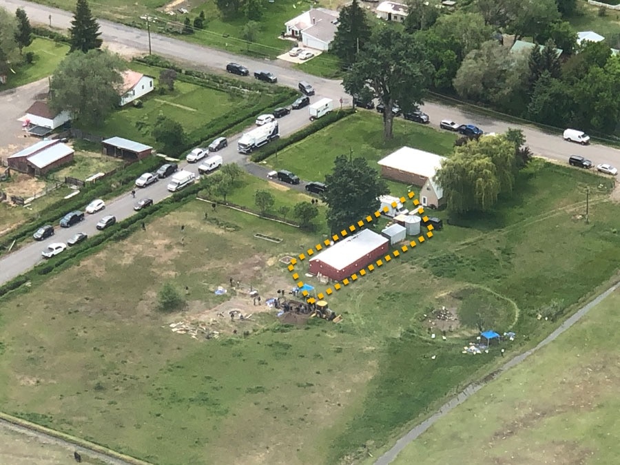 second search of Chad Daybell's property near Tylee Ryan's remains