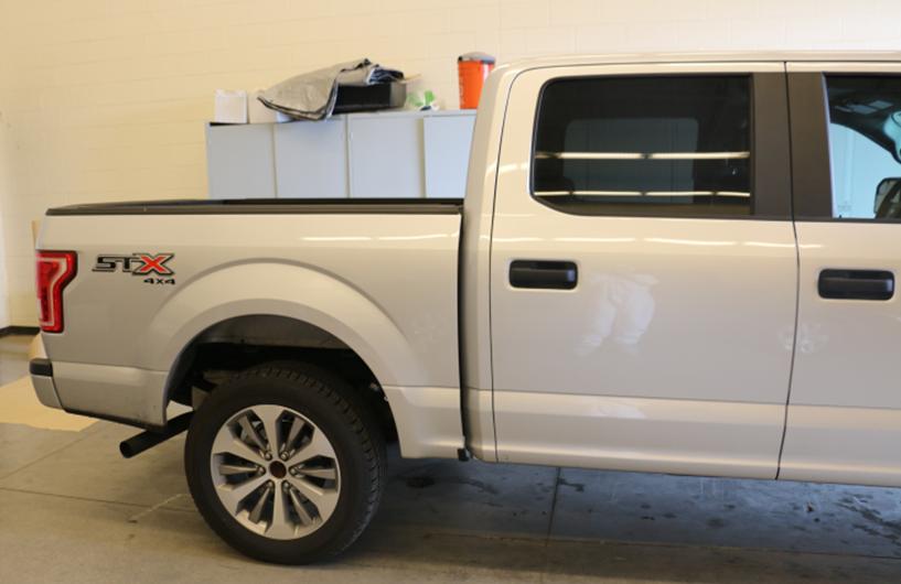 Alex Cox's truck